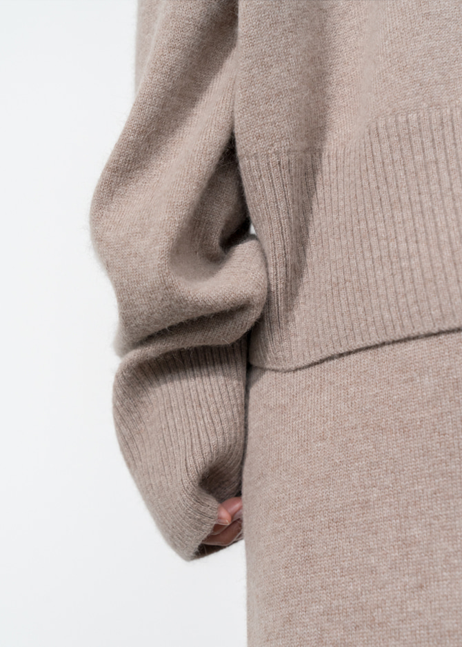 917 Mohair Blend Turtleneck Knit + Pants